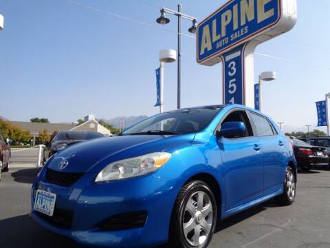 2009 Toyota Matrix for sale at Alpine Auto Sales in Salt Lake City UT