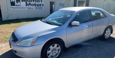 2004 Honda Accord for sale at Mama's Motors in Greer SC