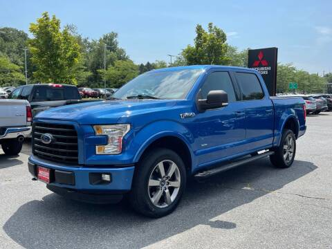 2015 Ford F-150 for sale at Midstate Auto Group in Auburn MA