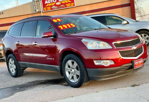 2009 Chevrolet Traverse for sale at SOLOMA AUTO SALES 2 in Grand Island NE