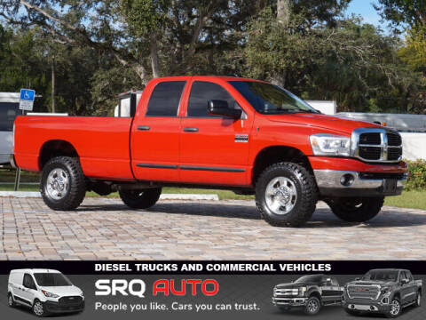 2007 Dodge Ram Pickup 2500 for sale at SRQ Auto LLC in Bradenton FL