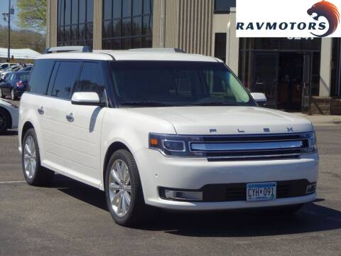 2014 Ford Flex for sale at RAVMOTORS 2 in Crystal MN