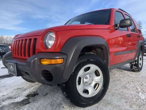 2004 Jeep Liberty for sale at LUXURY IMPORTS in Hermantown MN
