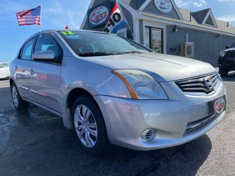 2012 Nissan Sentra for sale at Cape Cod Carz in Hyannis MA