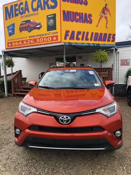 2016 Toyota RAV4 for sale at Mega Cars of Greenville in Greenville SC