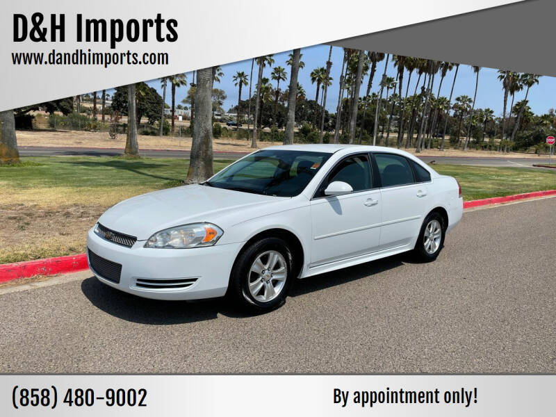 2012 Chevrolet Impala for sale at D&H Imports in San Diego CA