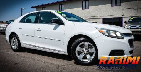 2014 Chevrolet Malibu for sale at Rahimi Automotive Group in Yuma AZ
