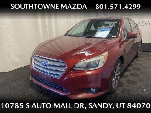 2015 Subaru Legacy for sale at Southtowne Mazda of Sandy in Sandy UT