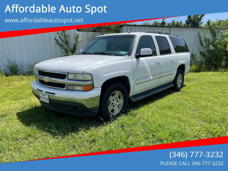 2005 Chevrolet Suburban for sale at Affordable Auto Spot in Houston TX