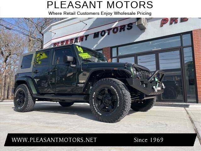 2010 Jeep Wrangler Unlimited for sale at Pleasant Motors in New Bedford MA