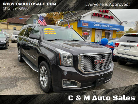2015 GMC Yukon XL for sale at C & M Auto Sales in Detroit MI