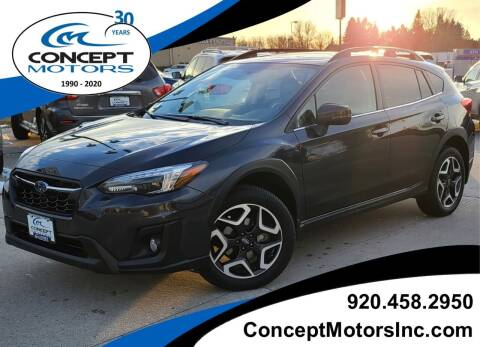 2019 Subaru Crosstrek for sale at CONCEPT MOTORS INC in Sheboygan WI