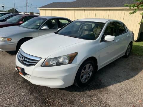 2012 Honda Accord for sale at MILLENIUM MOTOR SALES, INC. in Rosenberg TX