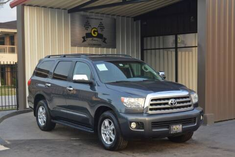 2008 Toyota Sequoia for sale at G MOTORS in Houston TX
