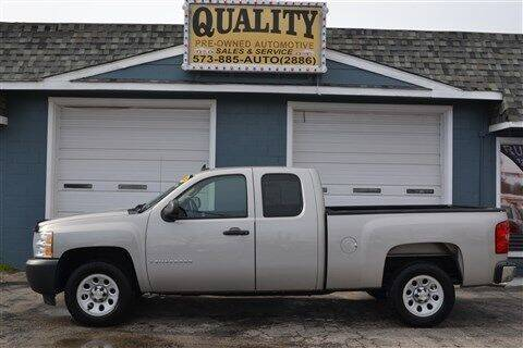 2009 Chevrolet Silverado 1500 for sale at Quality Pre-Owned Automotive in Cuba MO