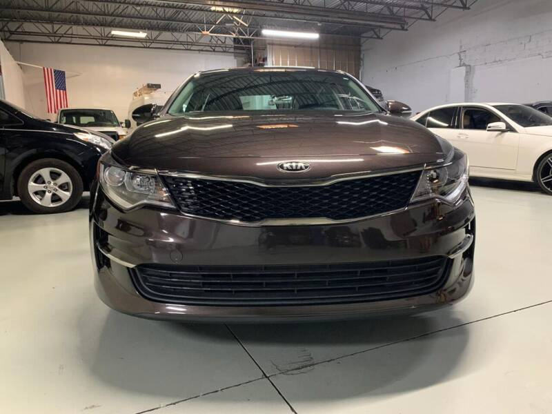 2018 Kia Optima for sale at GROUP AUTO IMPORT & EXPORT in Newark NJ