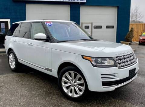 2017 Land Rover Range Rover for sale at Saugus Auto Mall in Saugus MA