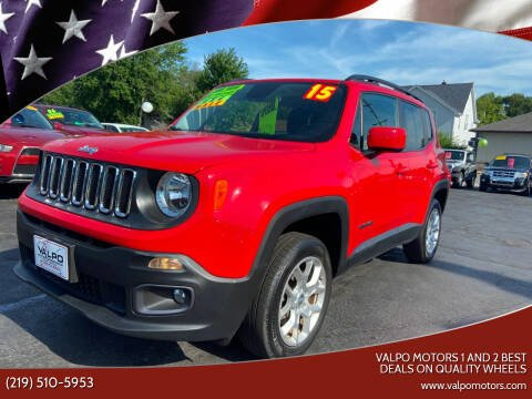 2015 Jeep Renegade for sale at Valpo Motors Inc. in Valparaiso IN