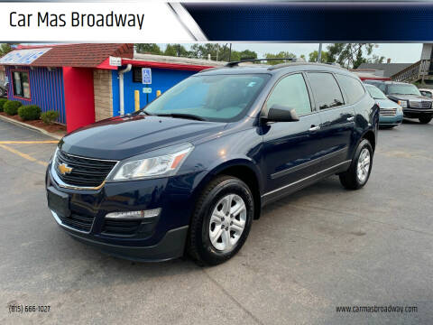 2015 Chevrolet Traverse for sale at Car Mas Broadway in Crest Hill IL