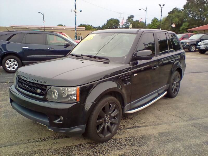 2012 Land Rover Range Rover Sport for sale at Smart Buy Auto in Bradley IL