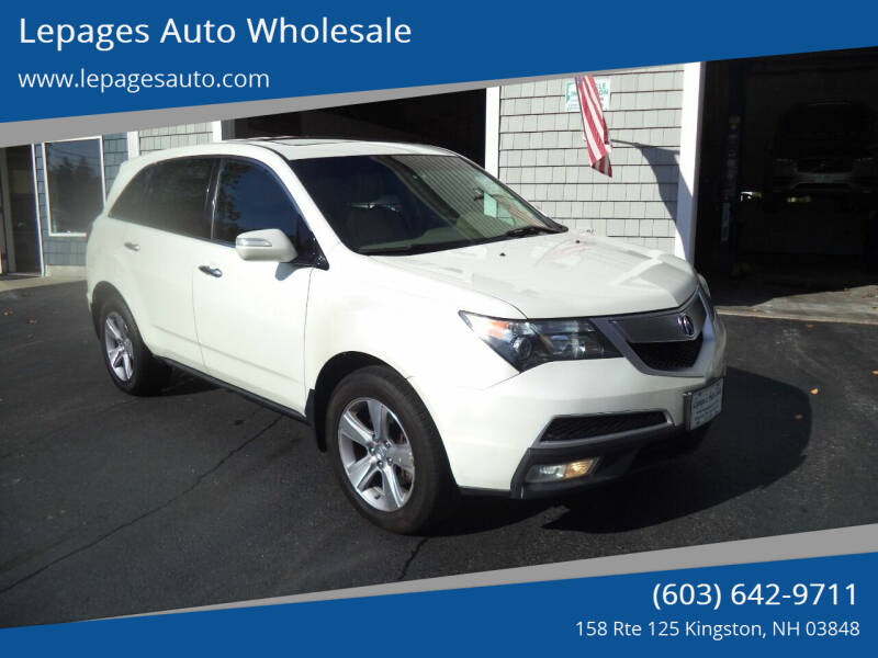 2013 Acura MDX for sale at Lepages Auto Wholesale in Kingston NH