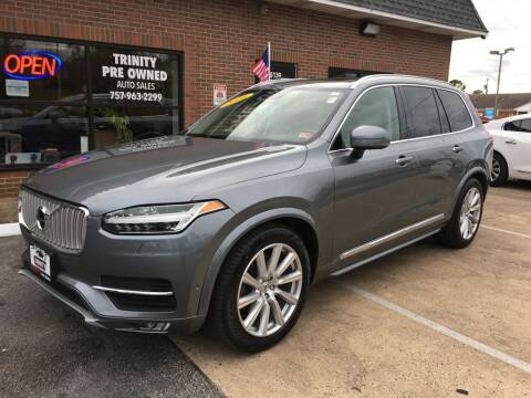 2016 Volvo XC90 for sale at Bankruptcy Car Financing in Norfolk VA