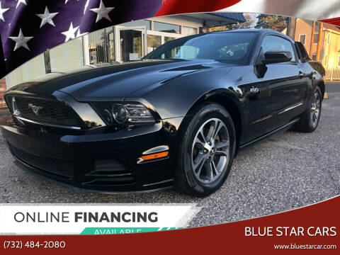2013 Ford Mustang for sale at Blue Star Cars in Jamesburg NJ