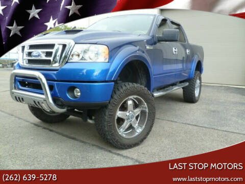 2008 Ford F-150 for sale at Last Stop Motors in Racine WI