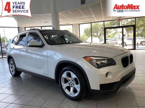 2014 BMW X1 for sale at Auto Max in Hollywood FL