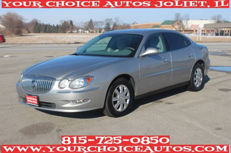 2008 Buick LaCrosse for sale at Your Choice Autos - Joliet in Joliet IL