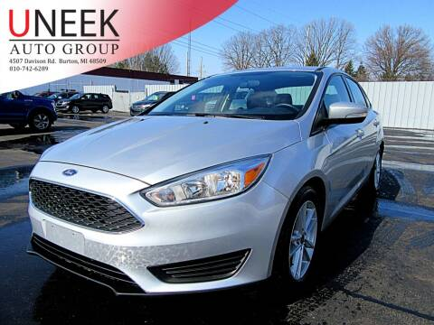 2017 Ford Focus for sale at Uneek Auto Group LLC in Burton MI