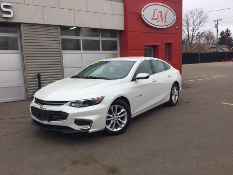 2017 Chevrolet Malibu for sale at Legend Motors of Waterford - Legend Motors of Detroit in Detroit MI