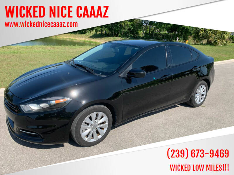 2014 Dodge Dart for sale at WICKED NICE CAAAZ in Cape Coral FL