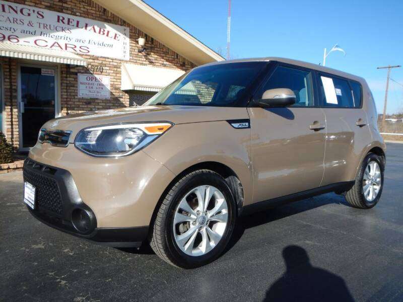 2014 Kia Soul for sale at Browning's Reliable Cars & Trucks in Wichita Falls TX