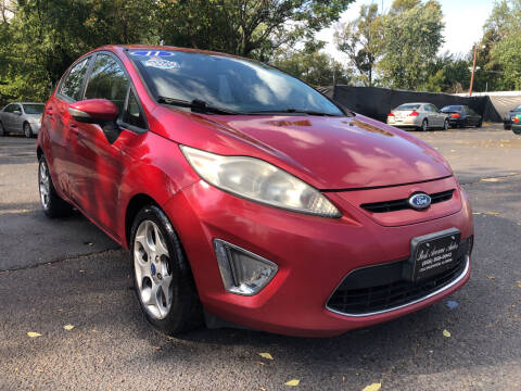 2011 Ford Fiesta for sale at PARK AVENUE AUTOS in Collingswood NJ