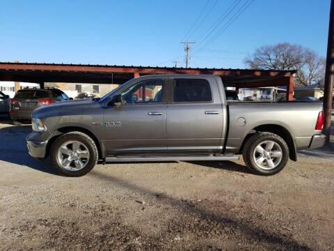 2013 RAM Ram Pickup 1500 for sale at Faw Motor Co in Cambridge NE