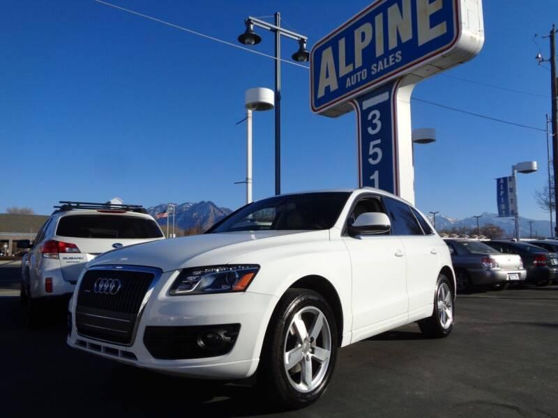 2012 Audi Q5 for sale at Alpine Auto Sales in Salt Lake City UT