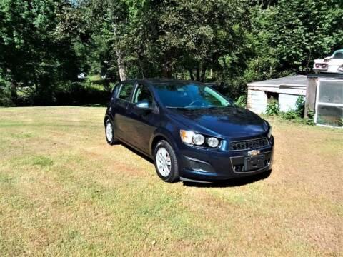 2015 Chevrolet Sonic for sale at Jack Mansur's Auto LLC in Pelham NH