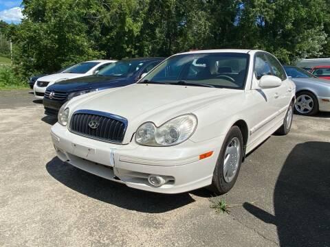 2003 Hyundai Sonata for sale at D & M Auto Sales & Repairs INC in Kerhonkson NY