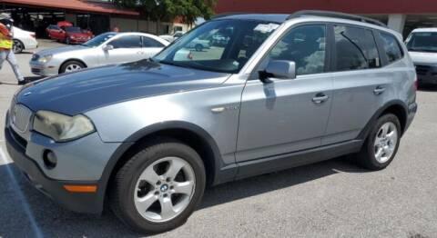 2008 BMW X3 for sale at Navarro Auto Motors in Hialeah FL
