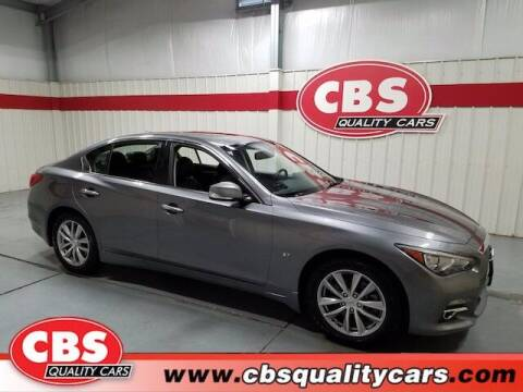 2015 Infiniti Q50 for sale at CBS Quality Cars in Durham NC