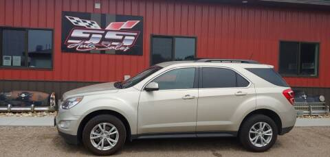 2016 Chevrolet Equinox for sale at SS Auto Sales in Brookings SD