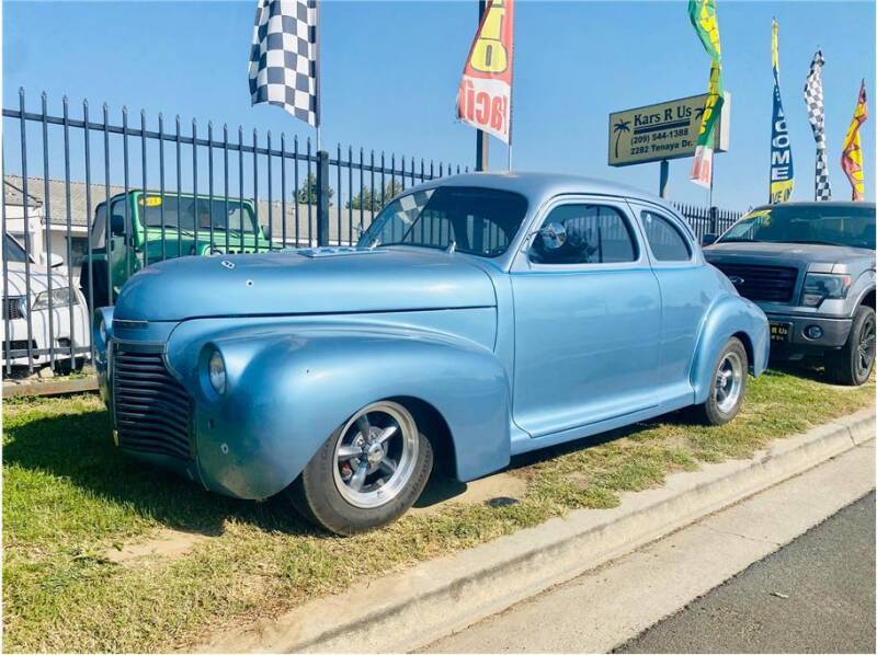 1941 Chevrolet coupe for sale at KARS R US in Modesto CA
