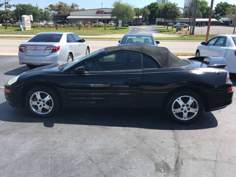 2004 Mitsubishi Eclipse Spyder for sale at Riviera Auto Sales South in Daytona Beach FL
