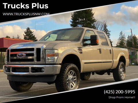 2008 Ford F-350 Super Duty for sale at Trucks Plus in Seattle WA