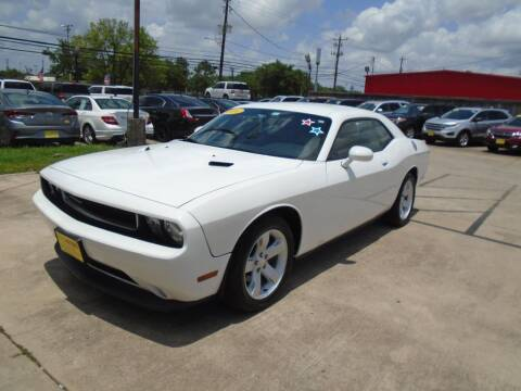 2014 Dodge Challenger for sale at BAS MOTORS in Houston TX