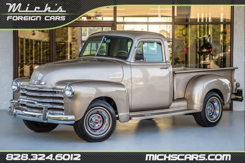 1953 Chevrolet C/K 10 Series for sale at Mich's Foreign Cars in Hickory NC