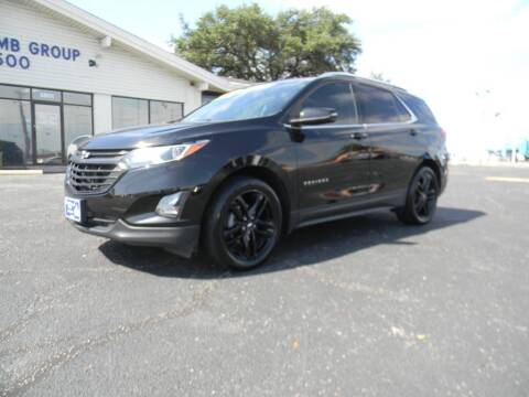 2020 Chevrolet Equinox for sale at MARK HOLCOMB  GROUP PRE-OWNED in Waco TX