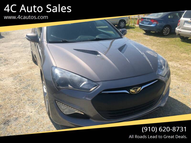 2013 Hyundai Genesis Coupe for sale at 4C Auto Sales in Wilmington NC