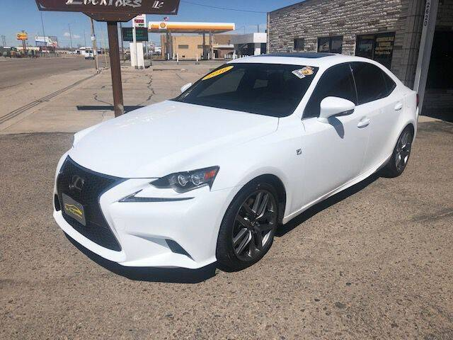 2016 Lexus IS 350 for sale at Valley Auto Locators in Gering NE